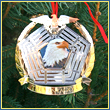 Bald Eagle Commemorative Pentagon Ornament