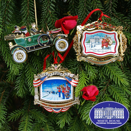 2010 - 2012 White House Ornament Gift Set