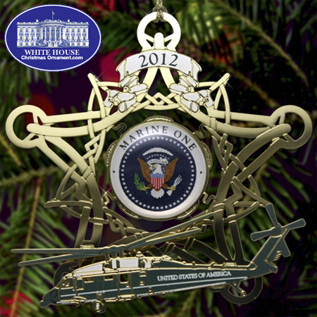 2012 Secret Service Marine One Ornament