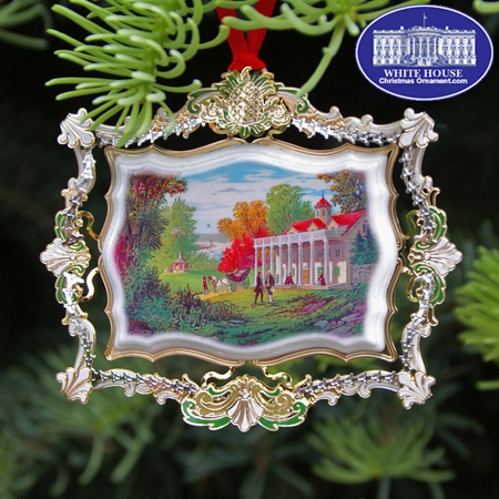 2012 Hospitality at George and Martha Washington's Mount Vernon Ornament