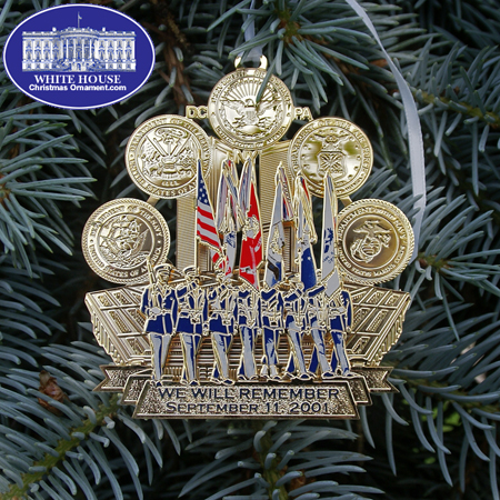 2012 Remember September 11, 2001 Ornament