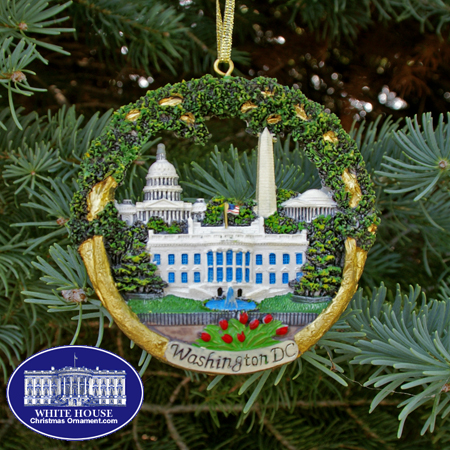 Washington DC Sculptured Landmarks Ornament