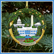 2012 Washington DC Sculptured Landmarks Ornament