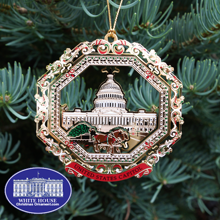 2013 U.S. Capitol Horse Drawn Carriage Ornament