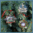 2013 White House Christmas Ornament Collection (Set of Three)