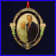 Commemorative George and Barbara Bush Ornament