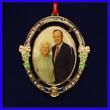 Commemorative George and Barbara Bush Ornament