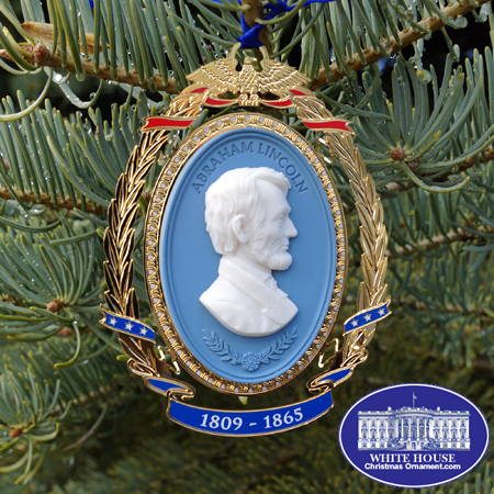 2013 President Abraham Lincoln Cameo Ornament
