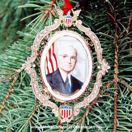 American President Collection Harry S. Truman Ornament