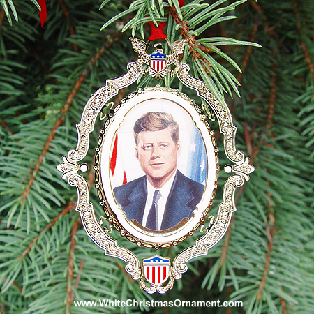 American President Collection John F. Kennedy Ornament
