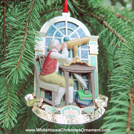 2004 George Washington at the Palladian Window Ornament
