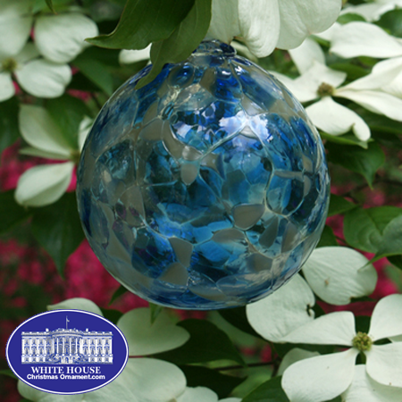Civil War Glass Ornament