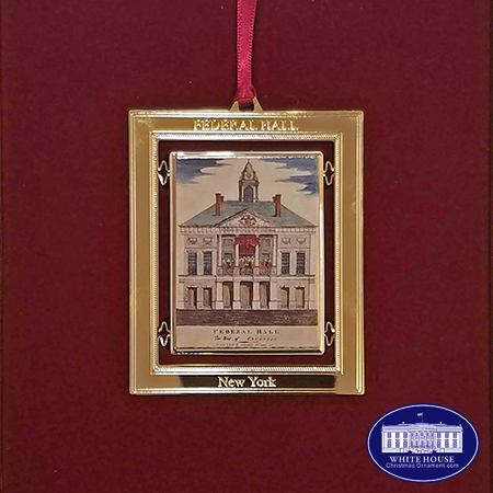 1998 George Washington Inauguration Ornament