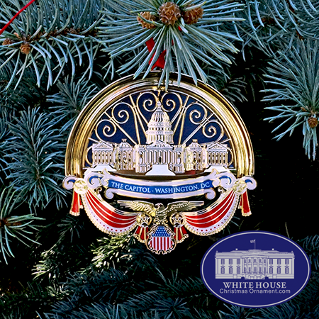 Official White House Christmas Ornaments