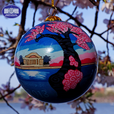 2013 National Cherry Blossom Festival Ornament