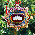 2014 Mount Vernon Holiday Ornament