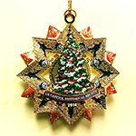 2014 Capitol Christmas Tree Starburst Ornament