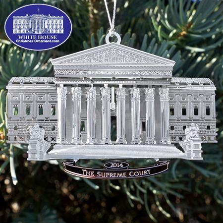 2014 Supreme Court Ornament