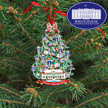 - 2015 Annual Mount Vernon Ornament