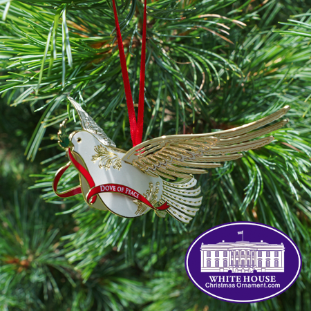 2015 Dove of Peace Christmas Ornament