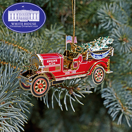 Official 2016 White House Herbert Hoover Ornament