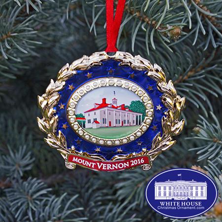 Mount vernon christmas ornament 2016 white house christmas ornament