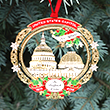 2018 US Capitol Bulfinch Dome Ornament