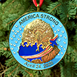 America Strong Tribute Ornament