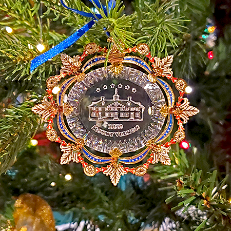 2020 Mount Vernon Holiday Ornament