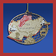 Free Afghanistan Campaign Ornament