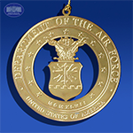 The US Air Force Insignia Ornament