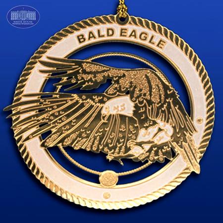 The Bald Eagle Ornament