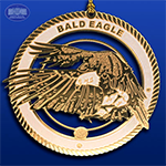 The Bald Eagle Ornament