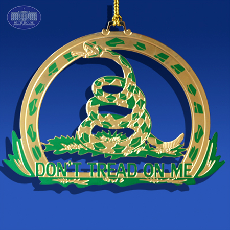 Don't Tread on Me - Ornament