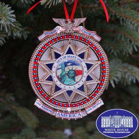 E Pluribus Unum Ornament