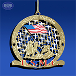 The Iwo Jima Semper Fidelis Ornament