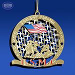 The Iwo Jima Semper Fidelis Ornament