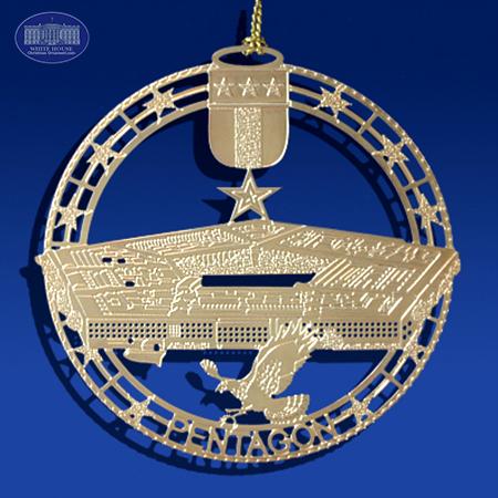 The Pentagon Insignia Ornament