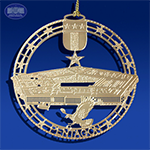 The Pentagon Insignia Ornament