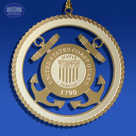 The US Coast Guard Insignia Ornament