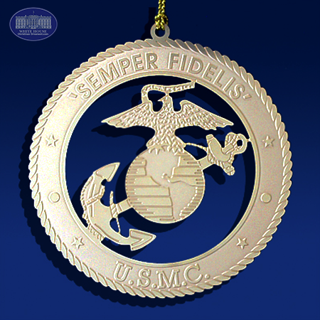 The US Marine Insignia Ornament