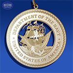 The US Navy Insignia Ornament