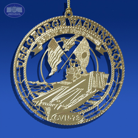 The USS George Washington Ornament