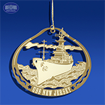 The USS New Jersey Ornament