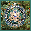 United States Army Ornament